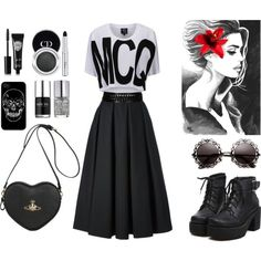 """Scirt"" by victorina-bob on Polyvore"