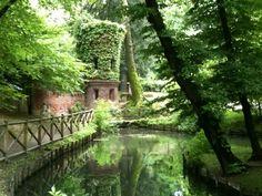 Giardini di Villa Reale nel Milano, Lombardia