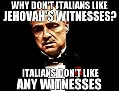 Some advice from Don Corleone.