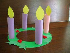 Advent Wreath Craft For Children
