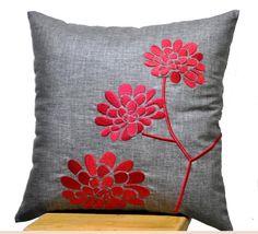Almohada almohada decorativa tapa ceniza almohada de por KainKain