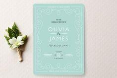 Las 30 invitaciones de boda con estilo vintage más lindas: Aliadas perfectos para incorporar estilo y elegancia Image: 16
