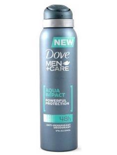 DOVE 150ml Men+Care Dezodorant Impact  • formuła MICROMOISTURE™ • zapobiega poceniu się  • łagodzi podrażnienia • nie wysusza skóry