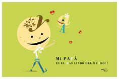 Ilustracion realizada para el Dia del padre.