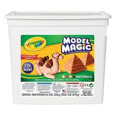Crayola Model Magic Non-Toxic Modeling Dough Set, 8 oz, Assorted Natural Color, Set of Beige Model Magic, Modeling Dough, Magic Crafts, Clay Crafts, Kits For Kids, Models, 1 Oz, More Fun, Craft Supplies