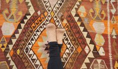 Vintage Anatolian kilim #dsfloors challenge