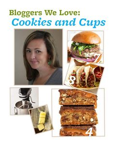 Blogger We Love: @Shelly Jaronsky (cookies and cups). Read her answers to our BHGfood questions here: http://bhgfood.tumblr.com/post/29340918940/blogger-we-love-shelly-jaronsky-of-cookies-and