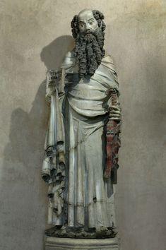 Mestre de Rius (Maître de Rieux), Sant Pau (ca. 1340, Musèu dels Augustins, Tolosa) Autrescòps dins la Capèla Nòstra-Dòna de Rius del convent dels Cordelièrs