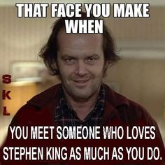 Can I meet someone who loves the shining as much as I do? .... Someday?!