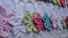 Crocheted Garland - by DandiCrochet on madeit