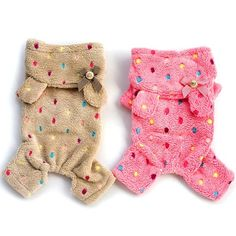 Cheap hoodies canada, Buy Quality clothes lift directly from China hoodie fleece Suppliers: Small Pet Dog Soft Warm Pajamas Coat Puppy Clothes Jumpsuit Hoodie Costume Puppy Clothes Girl, Yorkie Clothes, Cute Dog Clothes, Small Dog Clothes, Puppies In Pajamas, Puppies Puppies, Terrier Puppies, Puppy Supplies, Dog Supplies