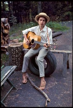 Bob Dylan. Photograph by Elliott Landy.