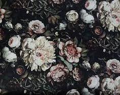 Bildergebnis für dark floral
