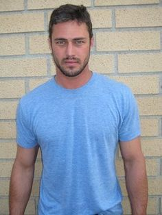 "Taylor Kinney's facial expression in this photo is incredible and helped me so much to create Edric, the superhero in my book ""Varangian: The Stone of Babylon"" (first book in my Varangian trilogy). Great beard, too. Love the intense look in his eyes - fierce ;)"