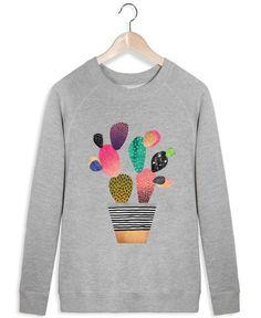 Happy Cactus - Elisabeth Fredriksson - Women's Sweater