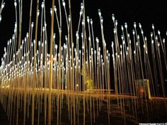 between-the-ears:A collection of sculptural light pieces….worth checking out.  renewable energy art « Infrascape Design