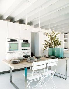La casa de las sillas rosas #sillas #hogarhabitissimo #cocina