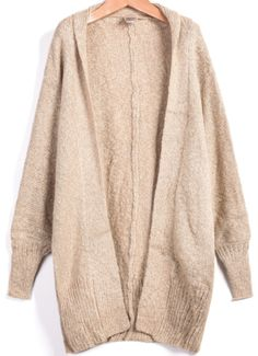 Shop Apricot Long Sleeve Loose Knit Cardigan online. Sheinside offers Apricot Long Sleeve Loose Knit Cardigan & more to fit your fashionable needs. Free Shipping Worldwide!