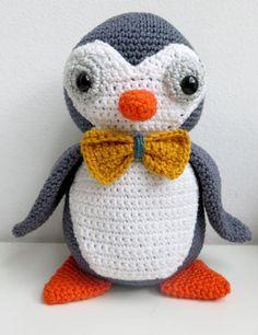 haakpatroon pinguïn amigurumi