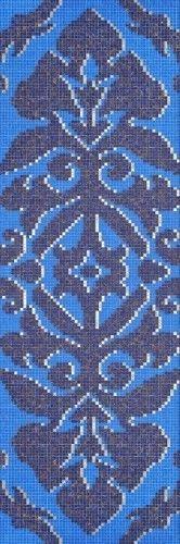 #Bisazza #Decori 1x1 cm Camee Blue   #Vetro   su #casaebagno.it a 1304 Euro/collo   #mosaico #bagno #cucina