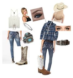 Country chick! by caroline-weaver on Polyvore featuring polyvore, fashion, style, Patagonia, Wet Seal, Miss Me, Laredo, Wanderdusk, David Yurman, Ariat, Extension Professional and country