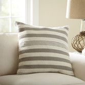 Found it at Wayfair - Edie Wool Pillow Cover, Pewter