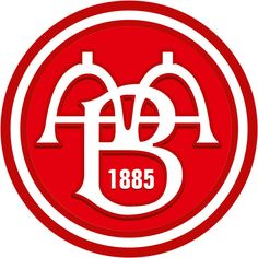 AaB Fodbold (AaB / Aalborg BK / Aalborg Boldspilklub) | Country: Danmark / Denmark. País: Dinamarca | Founded/Fundado: 1885/05/13 | Badge/Crest/Logo/Escudo.