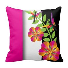 Decorate your home with decorative and throw pillows from Zazzle. Browse through pre-existing designs or create your own! Floral Throws, Floral Throw Pillows, Decorative Throw Pillows, Decorating Your Home, Create Your Own, Embroidered Pillows, Art Deco, Colorful, Pillow Talk