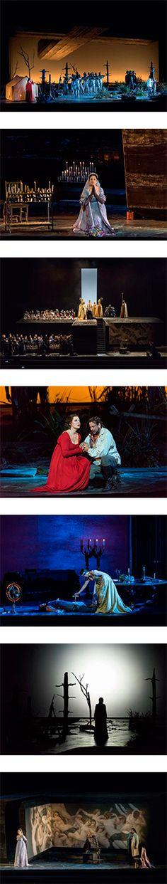 Opéra Bastille (09/2016 Paris) Musique: Giacomo Puccini Direction Musicale: Dan Ettinger Décors: Christof Hetzer Costumes: Robby Duiveman Lumières: Jean Kalman Dramaturgie: Klaus Bertisch