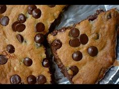 Skillet Chocolate Chip Cookie Recipe - YouTube