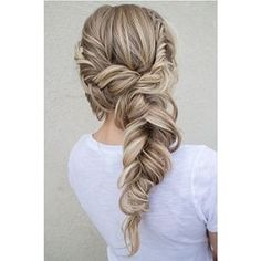 A Romantic hairstyle