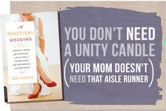 I'm a fan of ANYTHING that tells me I don't need a retarded unity candle. No seriously, ANYTHING.