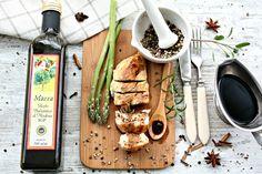 Piept de pui cu sos balsamic - Gust și Aromă Cheese, Food, Essen, Meals, Yemek, Eten