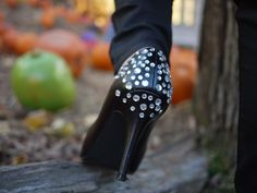i love do it yourself: DIY mes escarpins strass ! DIY strass high heels !