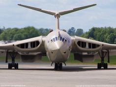 "Hadley-Page Victor B.2 first flew in 1959 as part of the RAF ""V"" bomber fleet. It's role changed to Photo Recon in 1968 and then to aerial tanker in 1969. Victor K.1's were retired in 1993."