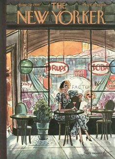 The New Yorker - Saturday, June 29, 1935 - Issue # 541 - Vol. 11 - N° 20 - Cover by : Barbara Shermund