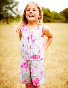 'I want world peace!!' Pretty Playsuit 32608 Dresses at Boden