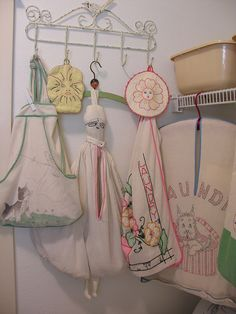 vintage clothespin bags