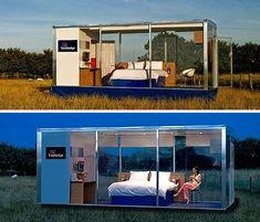 Travelodge Travelpod Hotel Room Concept