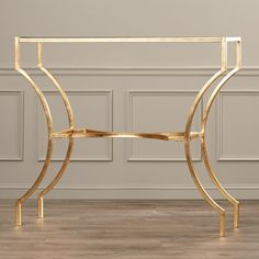House of Hampton Petworth Console Table Iron Furniture, Home Decor Furniture, Accent Furniture, Gold Trim Walls, Modern Table Legs, Stainless Steel Coffee Table, Marble Console Table, Decoration, Fairmont Park