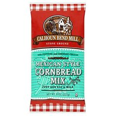 Calhoun Bend Mill Cornbread Mix 227g >>> Learn more by visiting the image link.