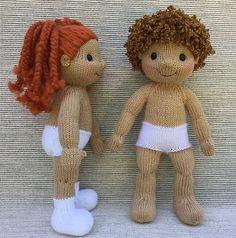 Play Pal Dolls Knitting pattern by Rainebo