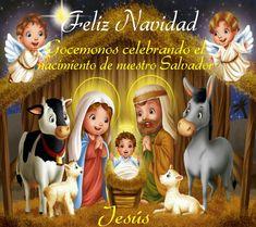 Feliz Navidad! Gocemonos celebrando el nacimiento de nuestro Salvador, Jesús.