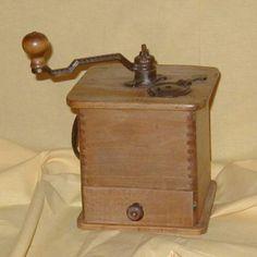 Coffee grinder, Logan & Strobridge