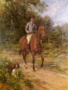 The Morning Ride by Heywood Hardy | Art Posters & Prints