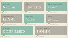 Infographic Of The Day: Why Should You Care About Typography? | Co.Design | business + innovation + design