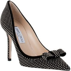 Jimmy Choo Marcie Studded Suede Pump ($1,095) ❤ liked on Polyvore