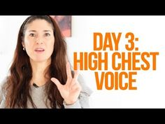 Expand Your Vocal As sing: Challenge - Day 3 (High Chest Voice)singing exercises Vocal Lessons, Singing Lessons, Singing Tips, Learn Singing, Art Lessons, Vocal Warm Up Exercises, Singing Exercises, Vocal Training, Singing Techniques