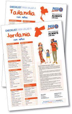 Checklist para viajar en familia - Always with kids Bullet Journal, Adventure Travel, Families, Traveling
