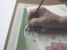 TUT  watercolor-painting of a metal teapot. A great tutorial!